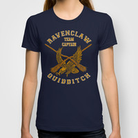 Harry potter Ravenclaw quidditch team iPhone 4 4s 5 5c, ipod, ipad, pillow case, tshirt and mugs T-shirt by Three Second