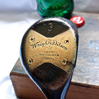 Lawson Little Golf Club Bottle Opener -- 1930's 'Wright & Diston' Persimmons Fairway Wood