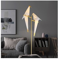 Trendy Bird Stand Standing Floor Lamp