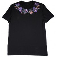 PRE ORDER ** Givenchy Inspired Rotty With Flower Print Tshirt - Online Fashion Accessories - With Love Kirsten