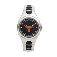 Game Time Victory Series Texas Longhorns Silver-Tone Watch - Men