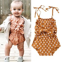 Newborn Sleeveless Baby Girl Romper48