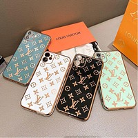 LV Louis Vuitton iPhone 11 phone case letter printing phone case