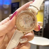 Louis Vuitton LV Watch Woman Men Fashion Quartz Watch
