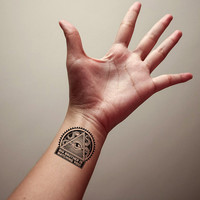 Big Brother is Watching You Temporary Tattoo