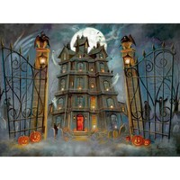 Bits and Pieces The Haunted House Halloween Jigsaw Puzzle - Puzzle Haven