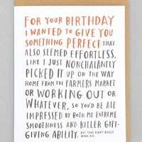 Emily McDowell For Your Birthday Card- Assorted One