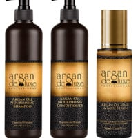 Argan Deluxe Hair Oil Bundle
