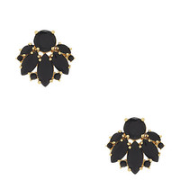 Kate Spade Care To Dance Studs Black ONE