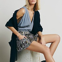 Free People Womens Sahara Printed Short