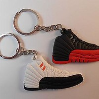 2 JORDAN KEYCHAINS. LOT OF 2. BASKETBALL BACKPACK KEYS NBA. BRAND NEW!!