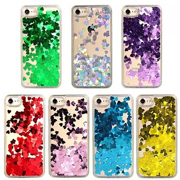 Glitter Sequin Transparent Phone Case