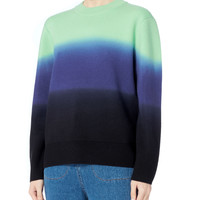Ombre Wool-Cashmere Sweater