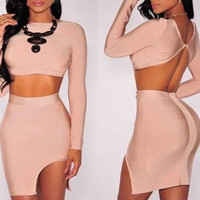 Greta Two-Piece Bandage Dress
