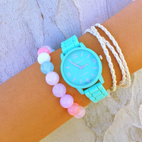 Pastel Candy Stack