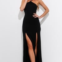 Talk To You Maxi Dress Black