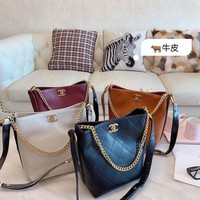 797 Fashion Embossing Chain Hobo Loose Shoulder Strap Crossbody Tote 22-24cm