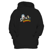 Rick And Morty Funny You Gotta Get Schwifty Man's Hoodie