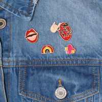 Rock On Pin Set