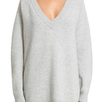 Alexander Wang Wool & Cashmere V-Neck Sweater | Nordstrom