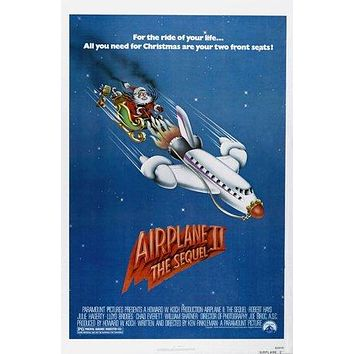 Airplane II: The Sequel Poster//Airplane II: The Sequel Movie Poster//Movie Poster//Poster Reprint