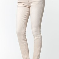 Bullhead Denim Co. Blush Low Rise Skinny Jeans - Womens Jeans - Dusk Pink