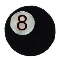 8 Ball Patch Eight Ball Pool Billiards