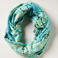 Anthropologie - Paisley Rill Infinity Scarf