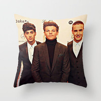 One Direction Group Shot at the Bambi Awards Throw Pillow by Toni Miller | Society6