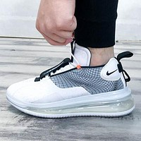 NIKE AIR MAX 720 WAVES Men's Mid-Top Atmospheric Sneakers