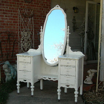 CUSTOM VANITY Order Your Own Antique Furniture Layaway Avail The Shabby Chic Furniture Painted Furniture Shabby Vanity Painted Vanity