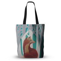 "Lydia Martin ""Fox Forest"" Everything Tote Bag"