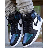 NIKE Air Jordan Retro AJ1 high-top casual sports basketball shoes sneakers #3