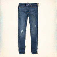 Girls High-Rise Jean Leggings | Girls New Arrivals | HollisterCo.com