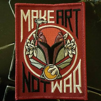 star wars patch, Sabine the artist, 501st, make art not war, rebels