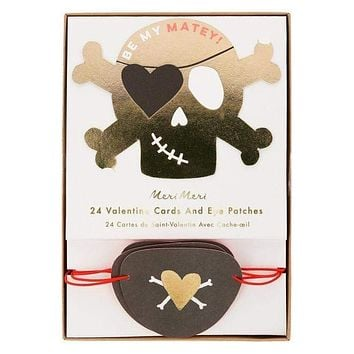 Pirate Valentines Love Notes