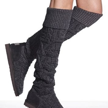 Over-the-knee Twist Cable Boot - UGG?- Australia - Victoria's Secret