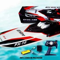 """32"""" RC Storm Engine PX-16 Racing Boat"""