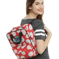 Licensed cool Disney Lilo Stitch Hawaii Floral Patch Small Mini School Backpack Book Bag Tote