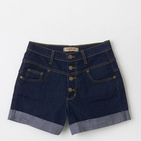 Vintage Inspired High Waist Karaoke Songstress Shorts
