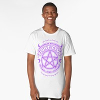 'Witch Fight Club - Pastel Goth' Long T-Shirt by stateements