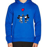 Happy Valentines Day Disney mickey minnie mouse 0502db85-c820-4fbd-a3d9-01c83fb70685 For Man Hoodie and Woman Hoodie S / M / L / XL / 2XL*AP*
