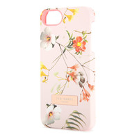 Botanical bloom iPhone case - Pale Pink | Gifts for her | Ted Baker UK