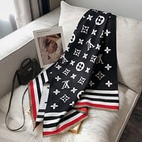 Louis Vuitton New Lv Fashion Cashmere Letter Jacquard Scarf