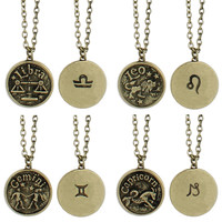Zodiac Charm Necklaces