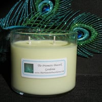 Gardenia Scented Soy Candle, 20 oz, Double Wicked