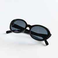Soho Slim Oval Sunglasses - Urban Outfitters