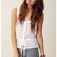 Stone Cold Fox Youth Crop Top