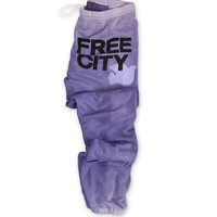 FREECITY featherweight glasswash sweatpant purplesmoothie