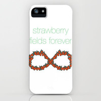 Strawberry Fields Forever, The Beatles iPhone & iPod Case by gabsnisen